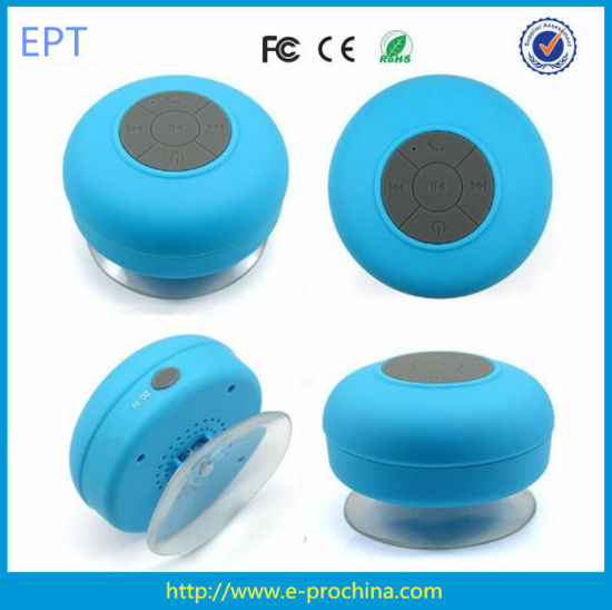 China Design for Kids with Sucker Ixp4 Waterproof Wireless Bluetooth Speaker