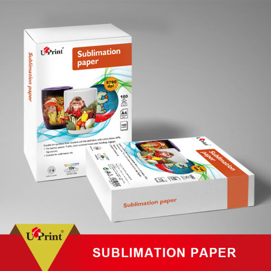 China Dye Heat Transfer Sublimation Paper 60g 75g 80g 90g 100g Sublimation Paper