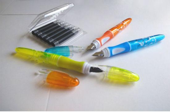 China Mini Style Fountain Pen Fp5020 with Liquid Ink EU Standard Cartridge