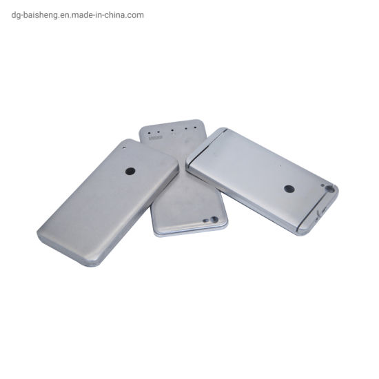 China Mobile Phone Housing Shell by Nano Molding CNC Machining Phone Case