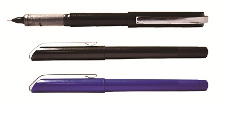 China New Style Pvn128y Liquid Ink Roller Ball Pen with Office Business Style