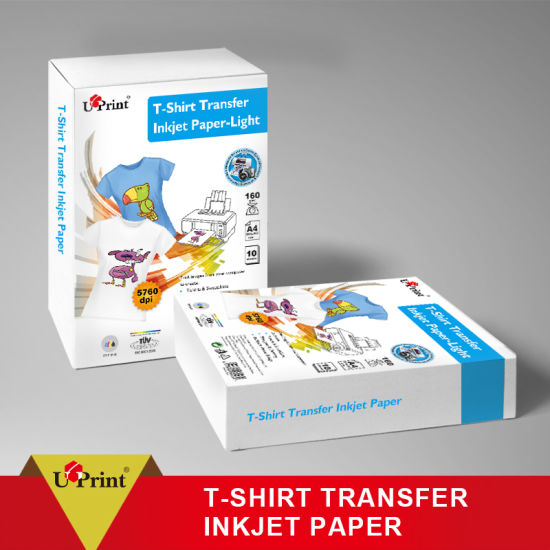 China No Cut Dark Color Heat Transfer Paper T -Shirt Printing Dark No Cut Transfer Paper