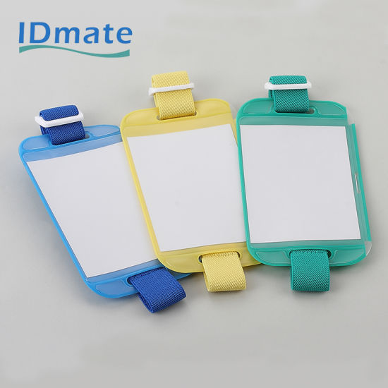 China Transparent Silicone Medical Arm BBadge Holder pictures & photos