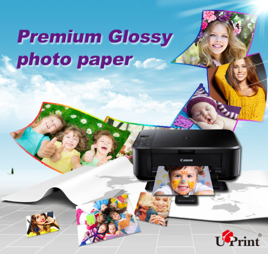 China Hot Selling Glossy Matt Satin Waterproof Inkjet Photo Paper 180-280GSM Inkjet Paper pictures & photos