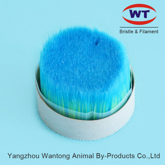China Multi-Colored Bristle Synthetic Monofilament for Paint Brush Making pictures & photos