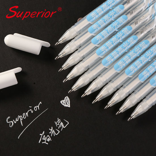 China Superior Water Proof Pigment Based Ink Highlighter Pen for Drawing pictures & photos