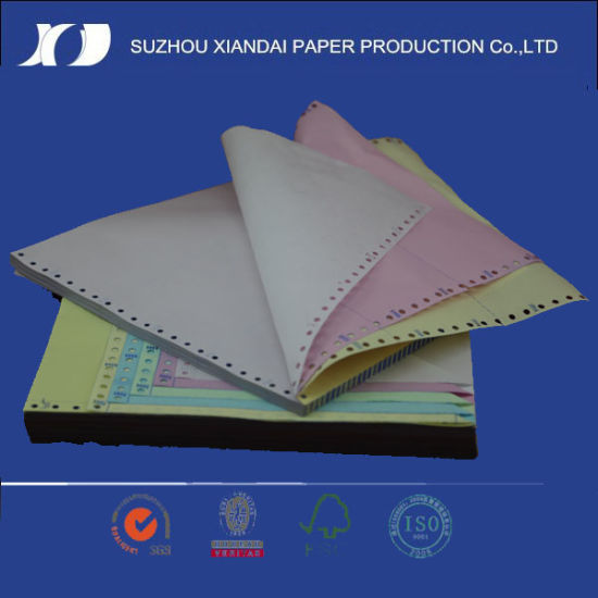 China The Continuous Printing Paper 241mm*279mm pictures & photos