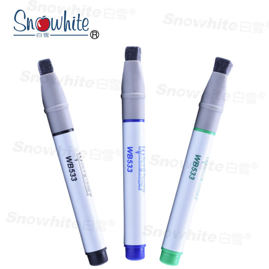 China Wb533 Snowhite Whiteboard Pen with OEM ODM Services pictures & photos