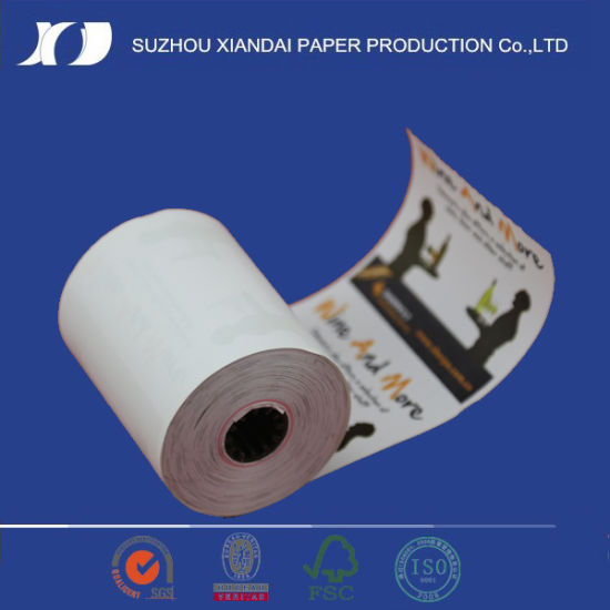 China cash register thermal paper roll pictures & photos