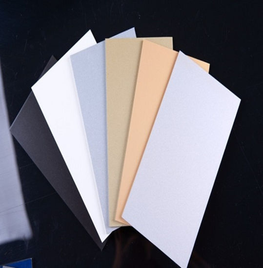 China Construction Material PVDF High Gloss Aluminum Composite Panel ACP