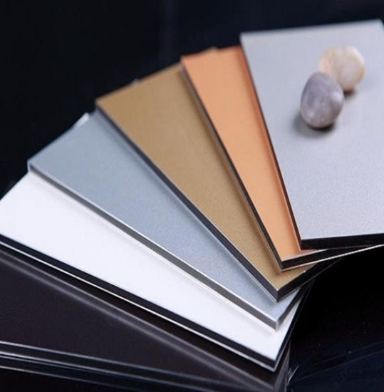 China ISO Standard PE PVDF Coated Aluminium Composite Panel Price pictures & photos