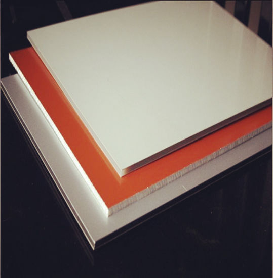 China PVDF Aluminum Plastic Composite Panel with Factory Supply pictures & photos
