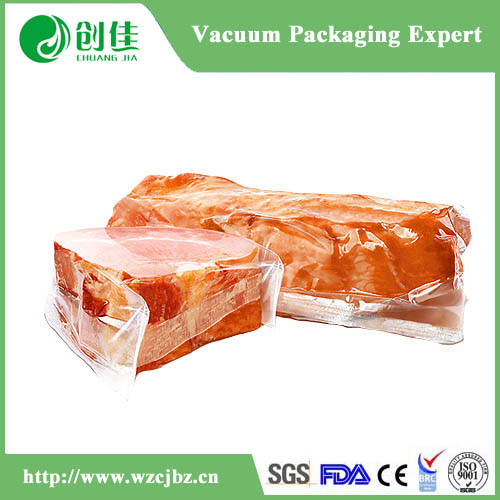 China PA PE Clear Plastic Vacuum Bag for Food Packaging