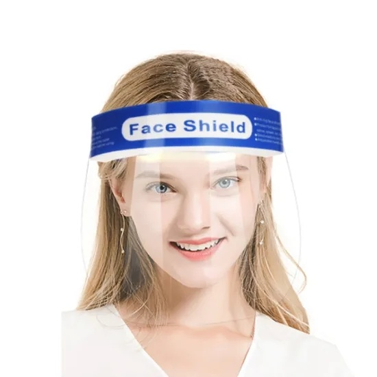 China Anti Fog Prevention Public Protective Plastic Pet Face Shield