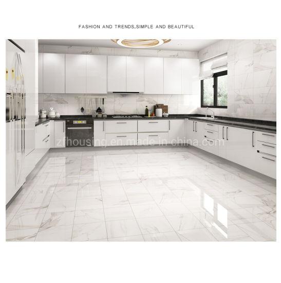 الصين للبيع الأبيض الخزف السيراميك المطبخ أو بلاط الحمام Zf Tf 018 بلاط مصقول بالجملة على Topchinasupplier Com