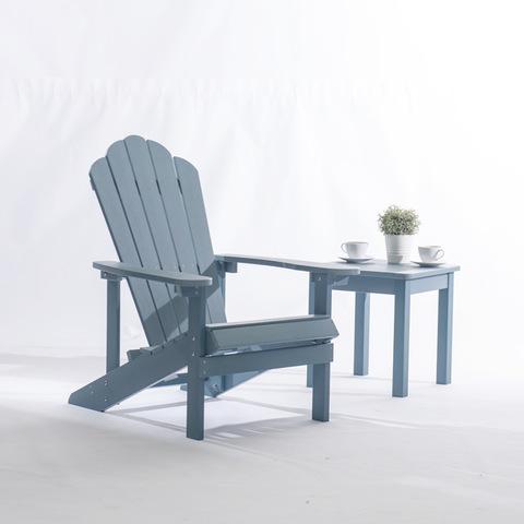 Открытый всепогодный складной пластиковый стул Adirondack