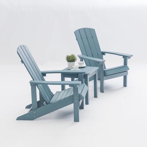 Krzesło ogrodowe Patio Plastikowe składane krzesło Adirondack