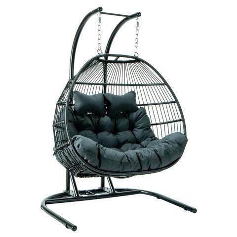 户外藤条吊秋千方便椅蛋椅户外家具